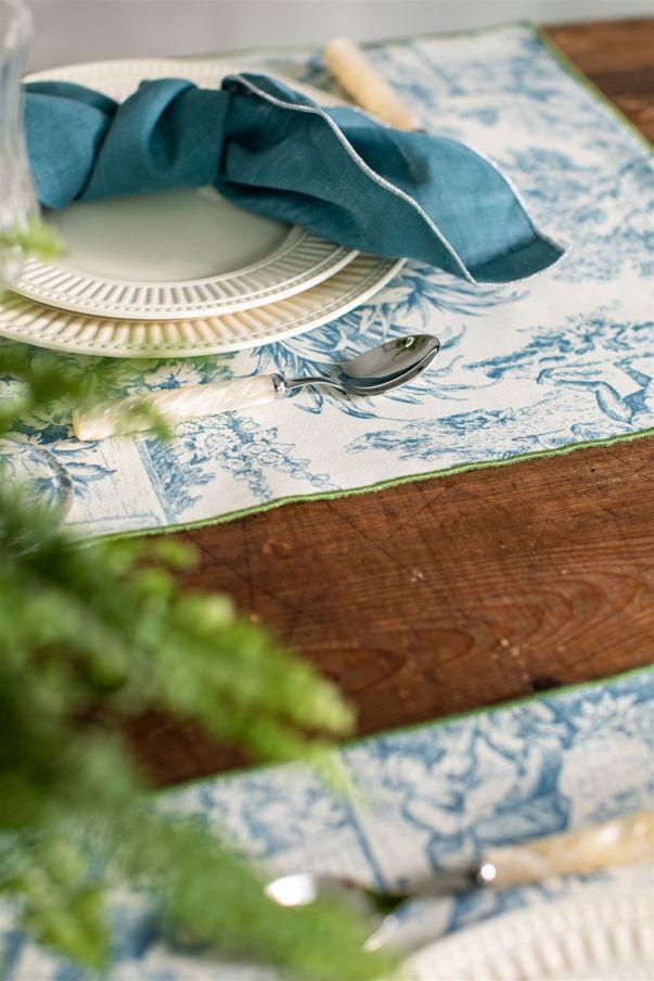 Antistain Linen Tablemat Filo