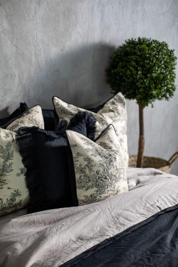 Velvet & Linen Pillowcase Vanessa