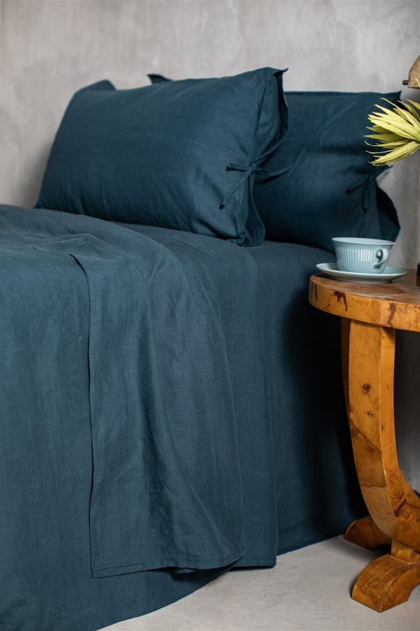 Linen Sheet With Corners