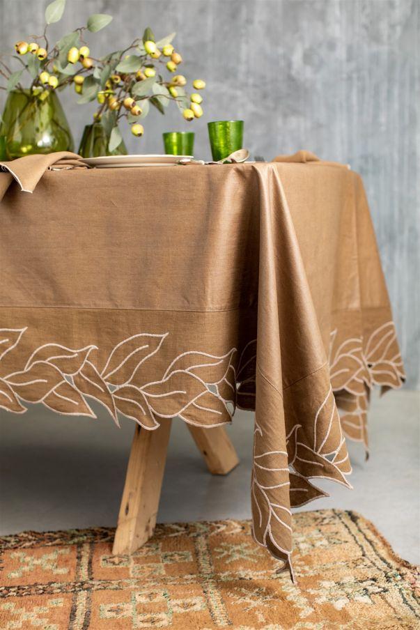 Antistain Linen Tablecloth Venezia