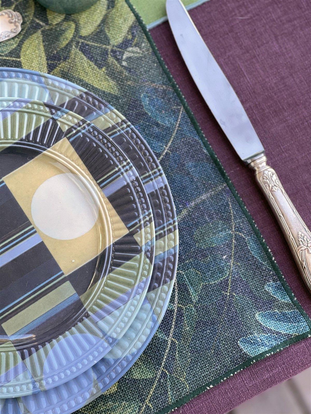 Antistain Linen Tablemat Petali
