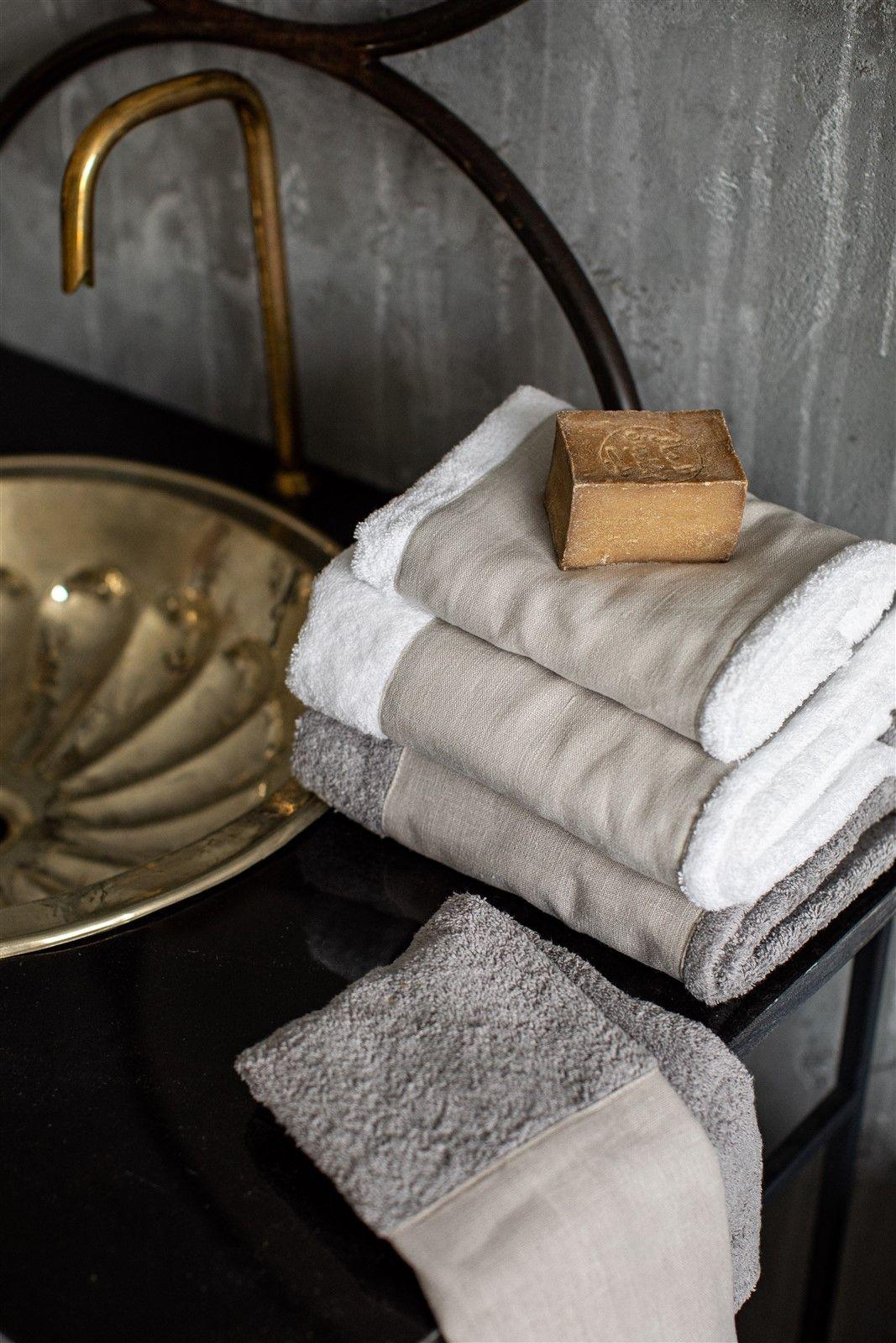 Cotton Bath Towel Bauhaus