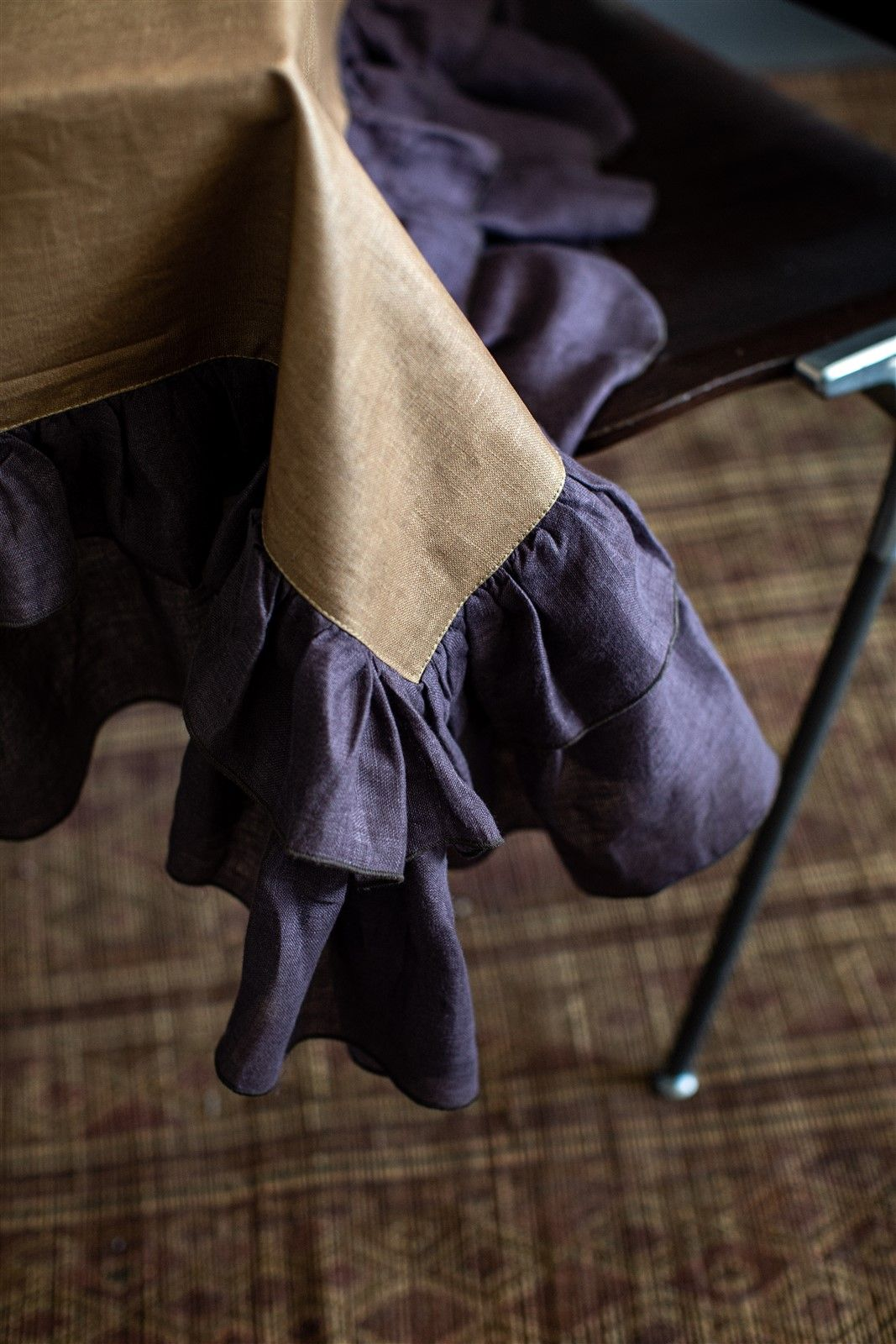 Antistain Linen Tablecloth Gitane