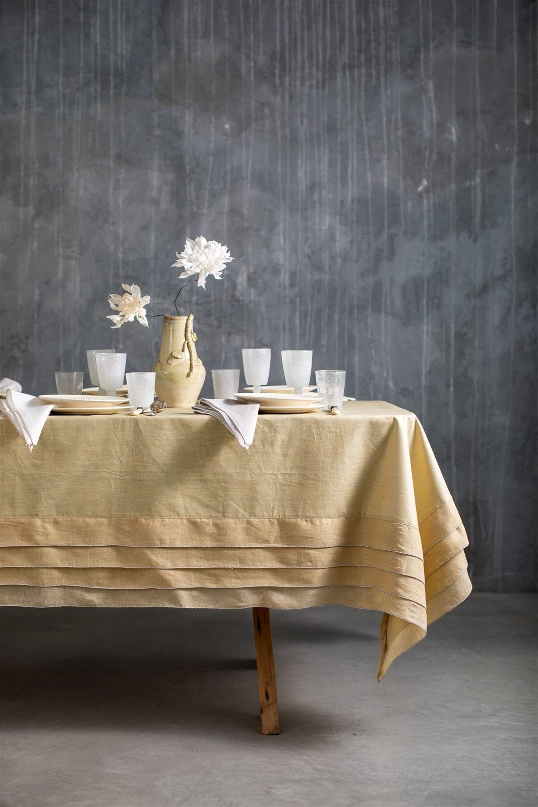 Antistain Linen Tablecloth Sfogliatella
