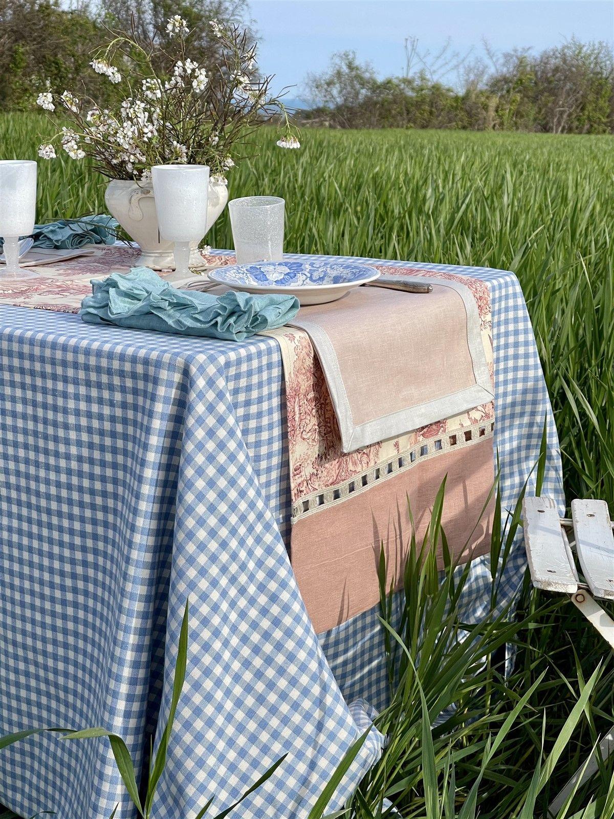 Linen Tablecloth Filo