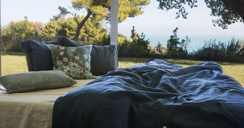 Coperte estive per il letto matrimoniale: la freschezza del lino